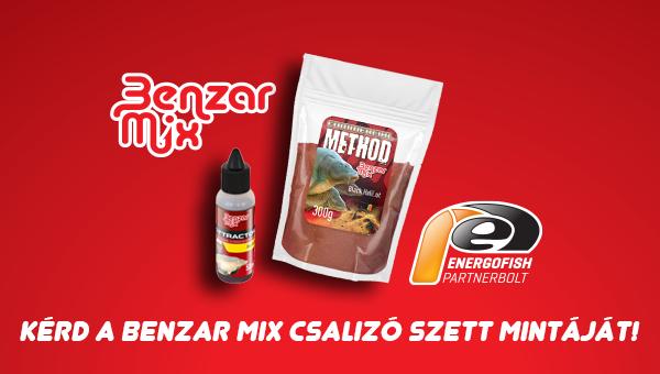 Kérd a Benzar Mix csalizó szett mintáját