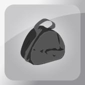 Szerelékes táska, csalihalas táska