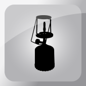Kemping gázfőző, sátorfűtés