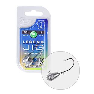 L&K LEGEND JIG 1/0 10G 3PCS/BAG