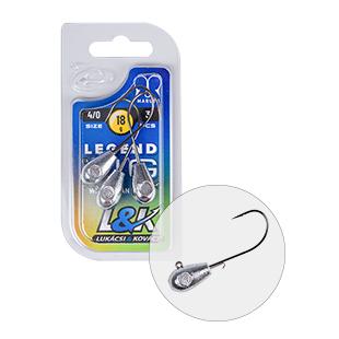 L&K LEGEND JIG 4/0 18G 3PCS/BAG