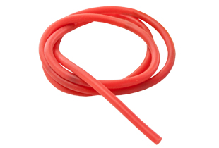 SOLID SPARE RUBBER FOR CATAPULTS RED 60CM 4,5MM