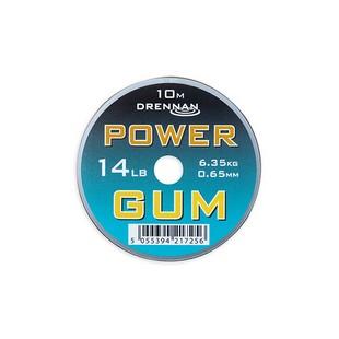 DRENNAN POWER GUM 0,65MM 14LB BARNA