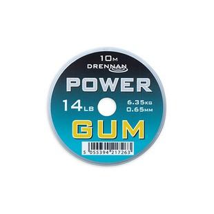 DRENNAN POWER GUM 0,65MM 14LB VÍZTISZTA
