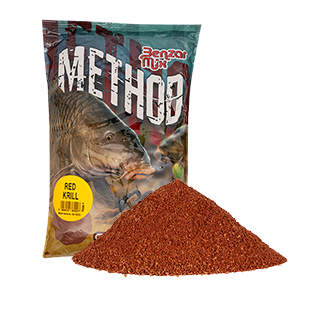 BENZAR MIX SERIA METHOD MIX  RED KRILL 800GR