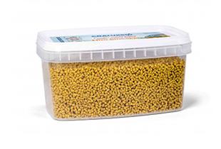 CRALUSSO Fluo ananász pelletbox+aromával 2,5 mm