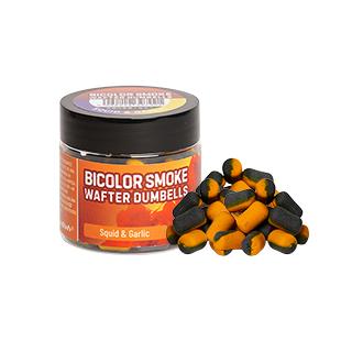 Benzar Mix Bicolor Smoke Wafter Dumbells, Squid-Garlic, blue