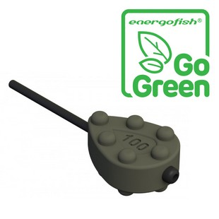 CARP EXPERT LF-STUBBY PEAR INLINE 40G COLORED ''GO GREEN''