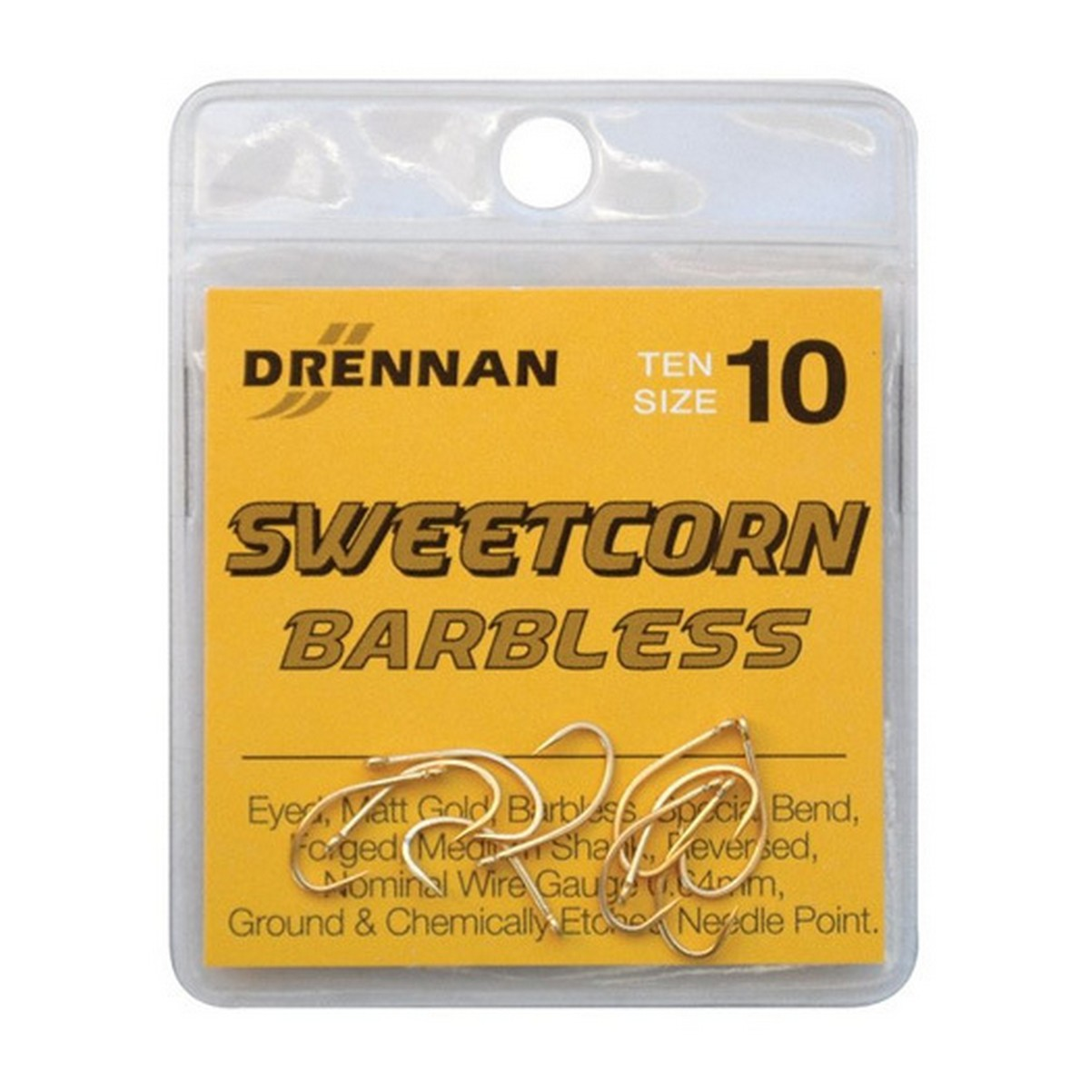DRENNAN HOROG SWEETCORN BARBLESS 6 GOLD 10DB/CS
