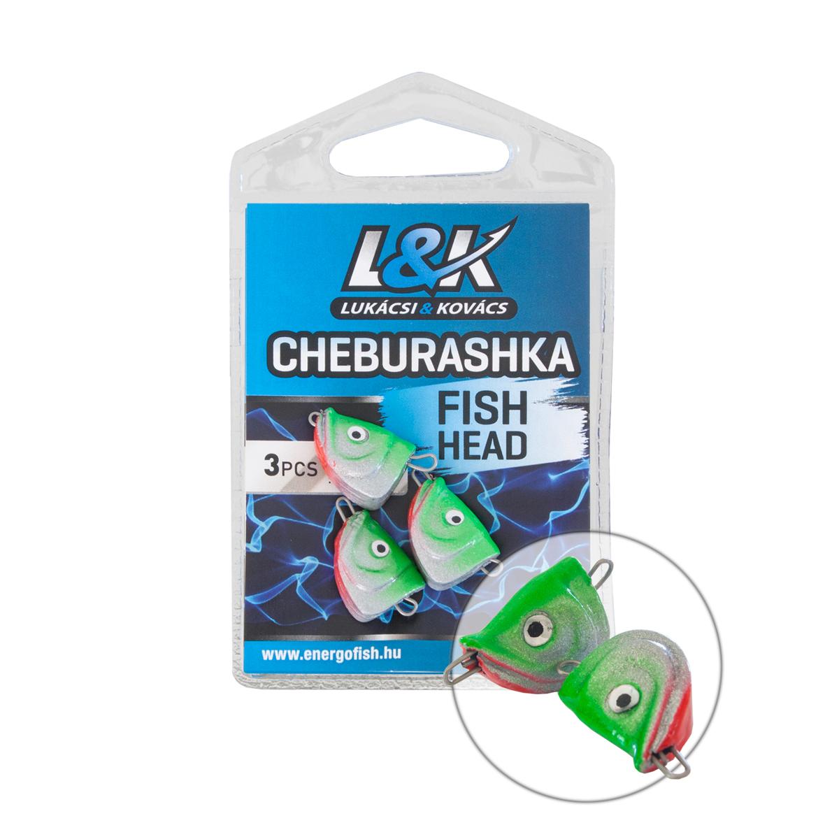 L&K CHEBURASHKA FISH HEAD 8g