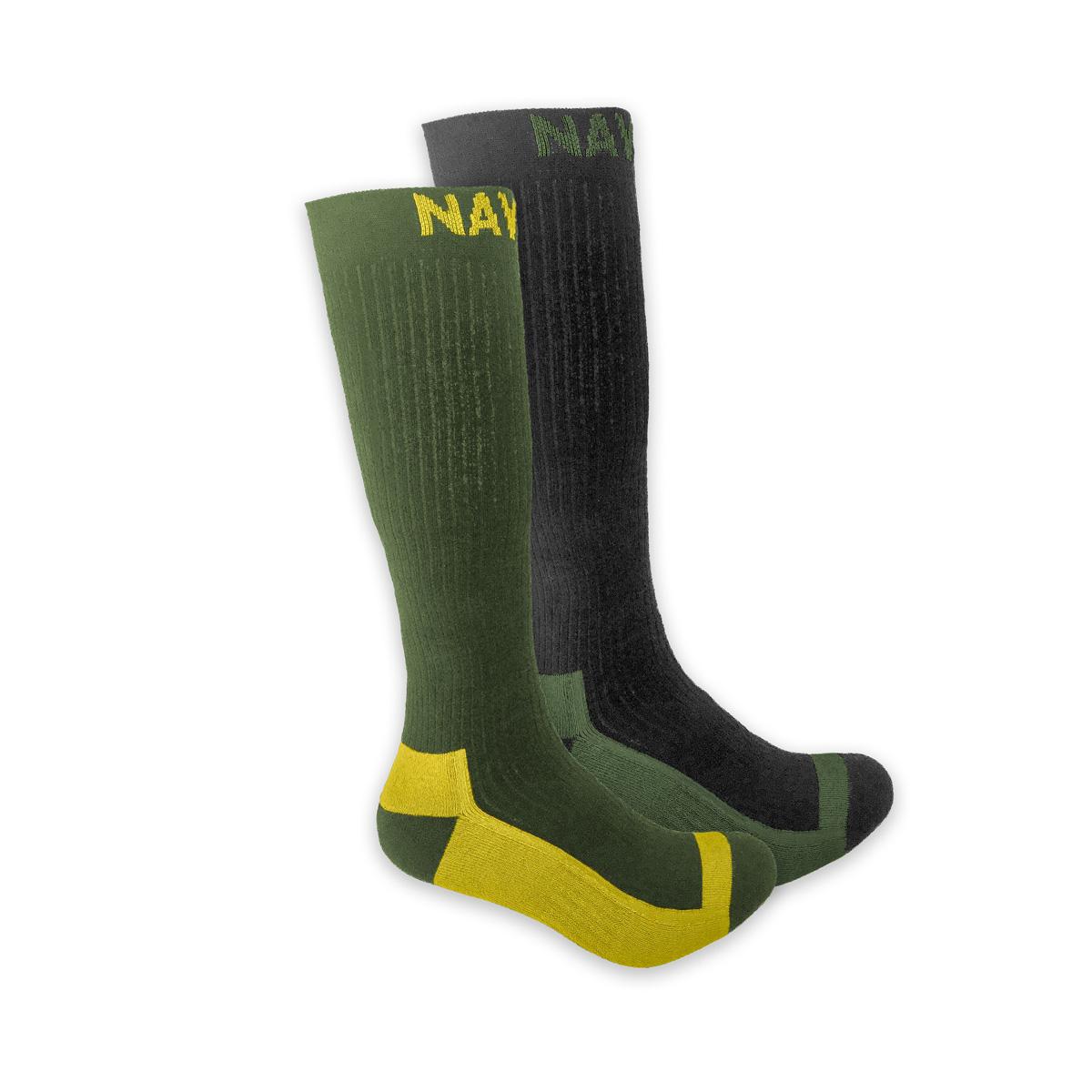 NAVITAS COOLMAX BOOT SOCK TWIN PACK GREEN