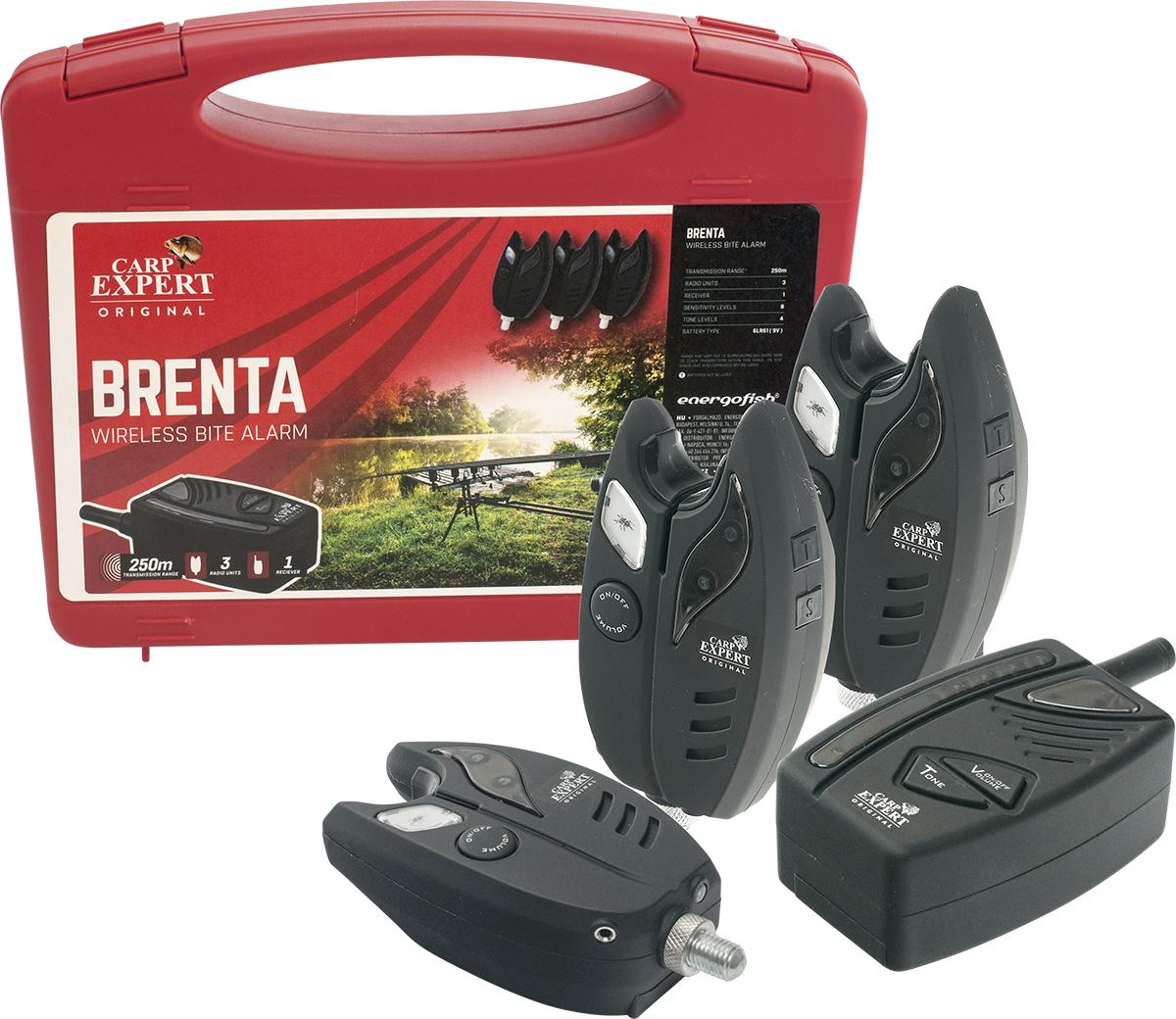 Carp Expert Brenta rádiós kapásjelzõ szett 3+1
