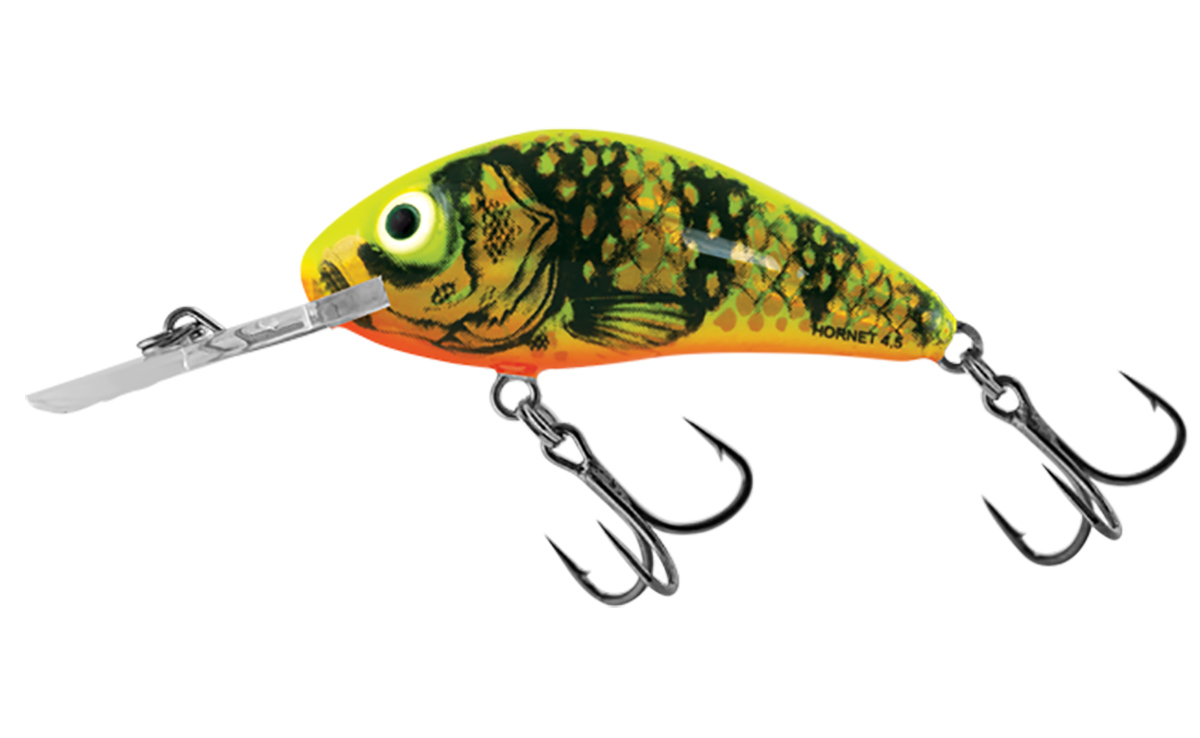 SALMO WOBBLER RATTLIN HORNET H3.5 GFP