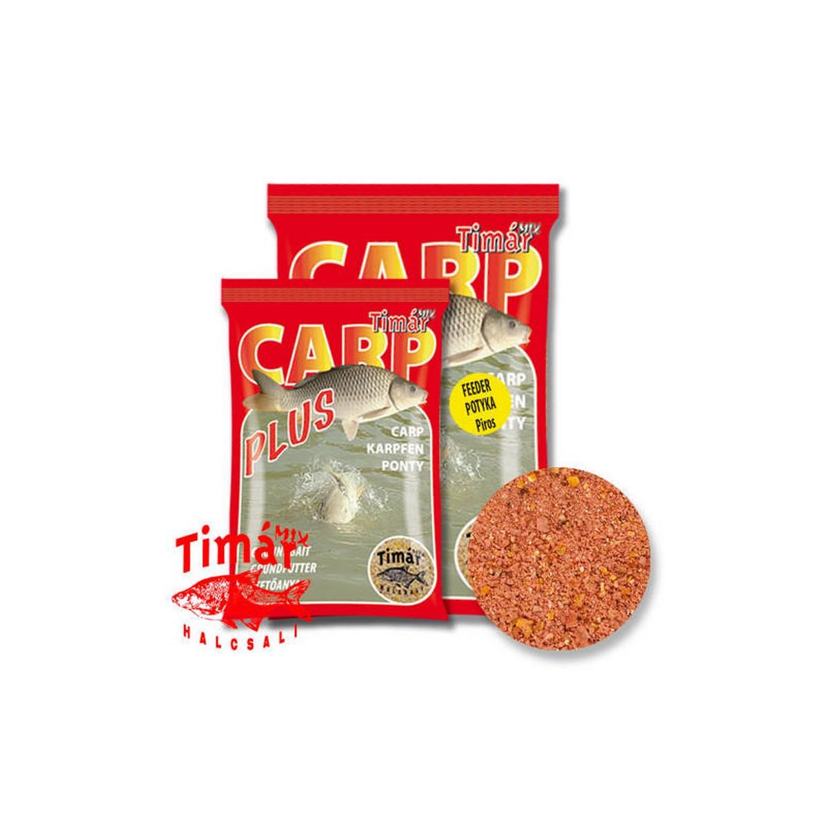 TIMÁR MIX CARP PLUS FEEDER POTYKA PIROS