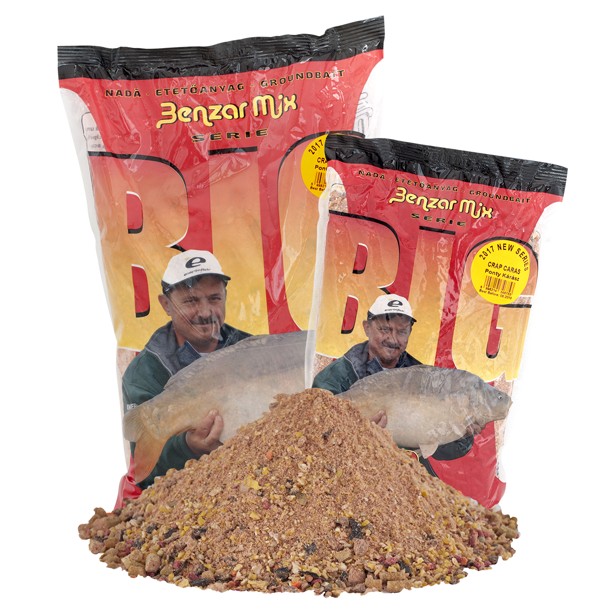 Benzar Mix Big Series Ponty Kárász 1kg