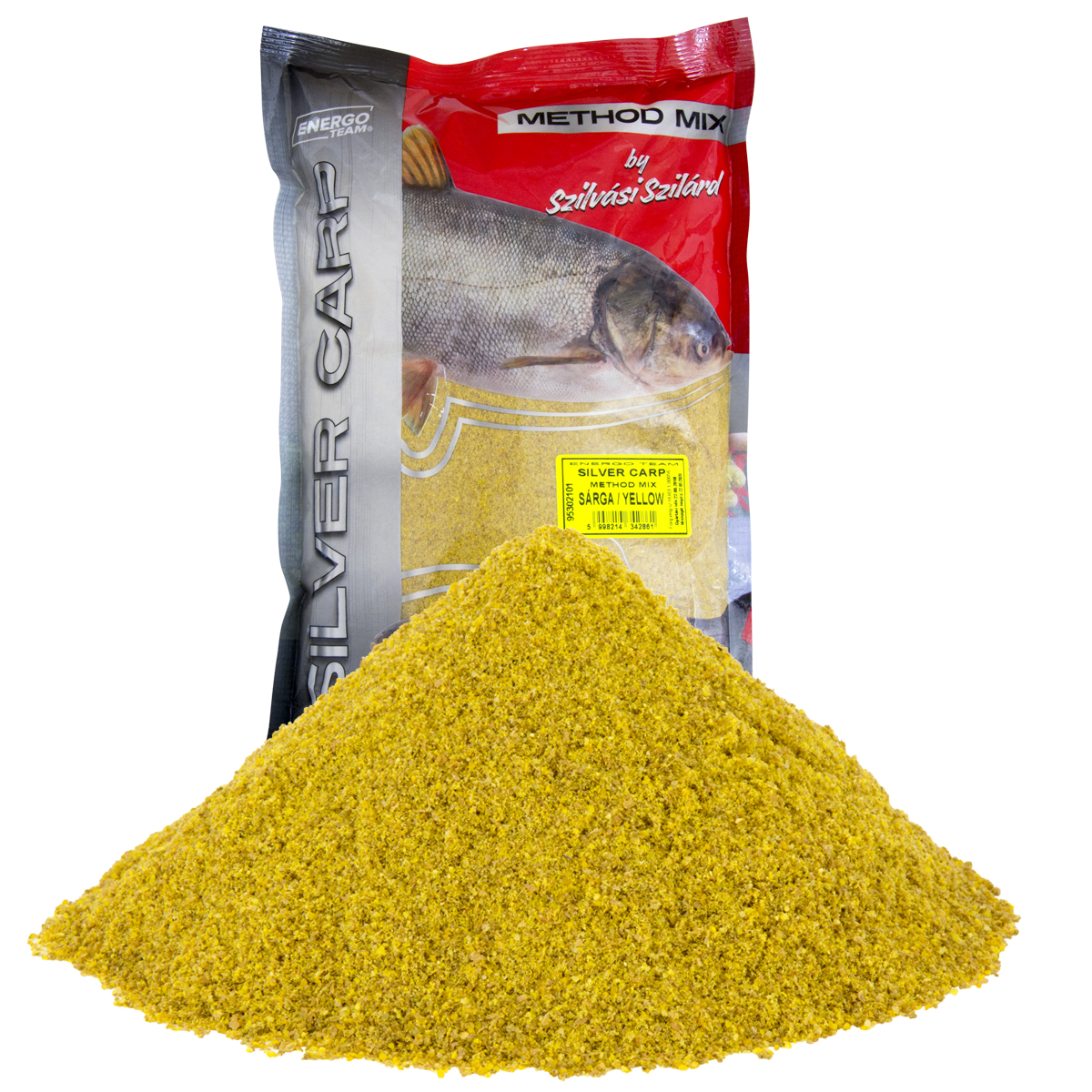 SILVER CARP 1KG METHOD MIX SÁRGA