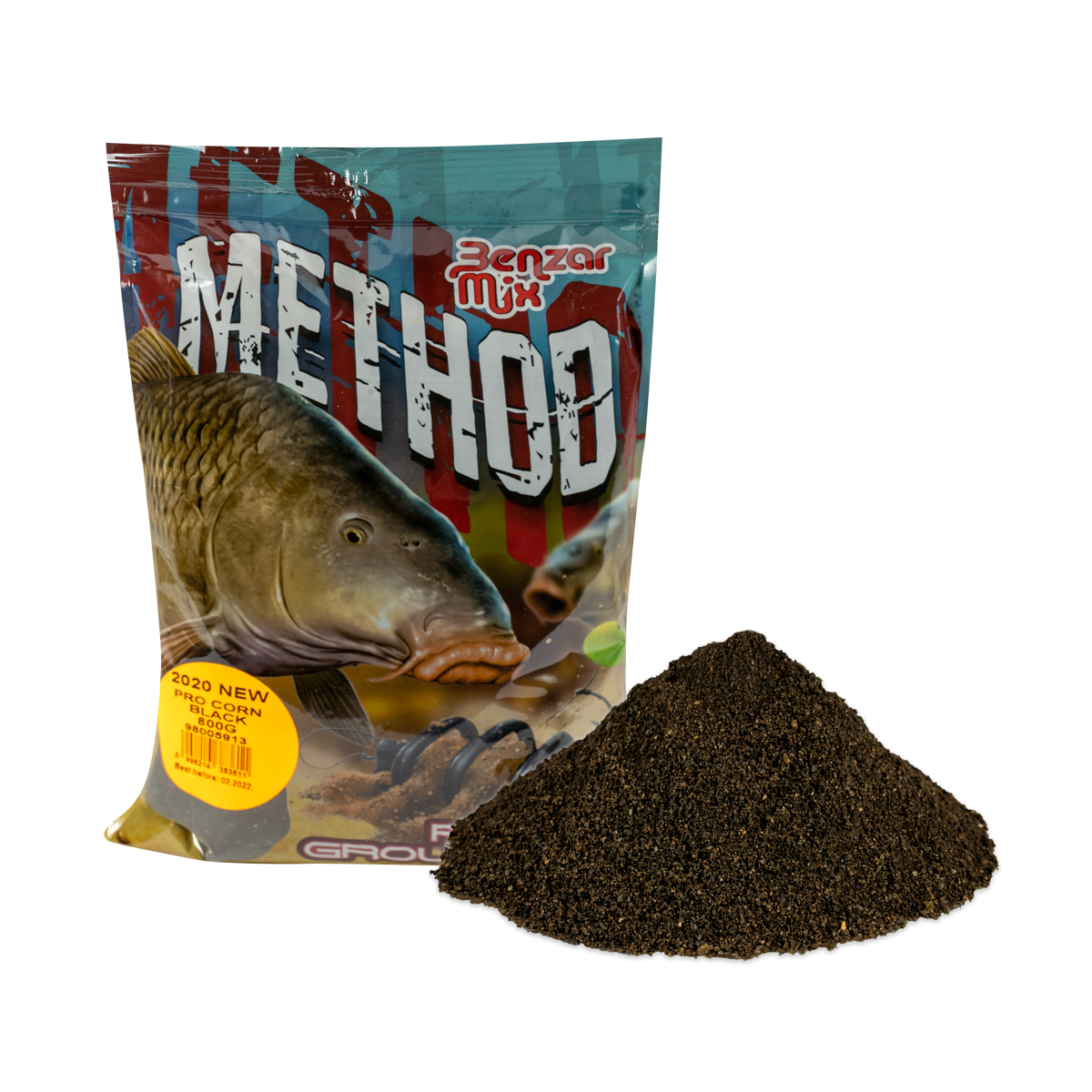 BENZAR MIX SERIA METHOD PRO CORN BLACK 800GR