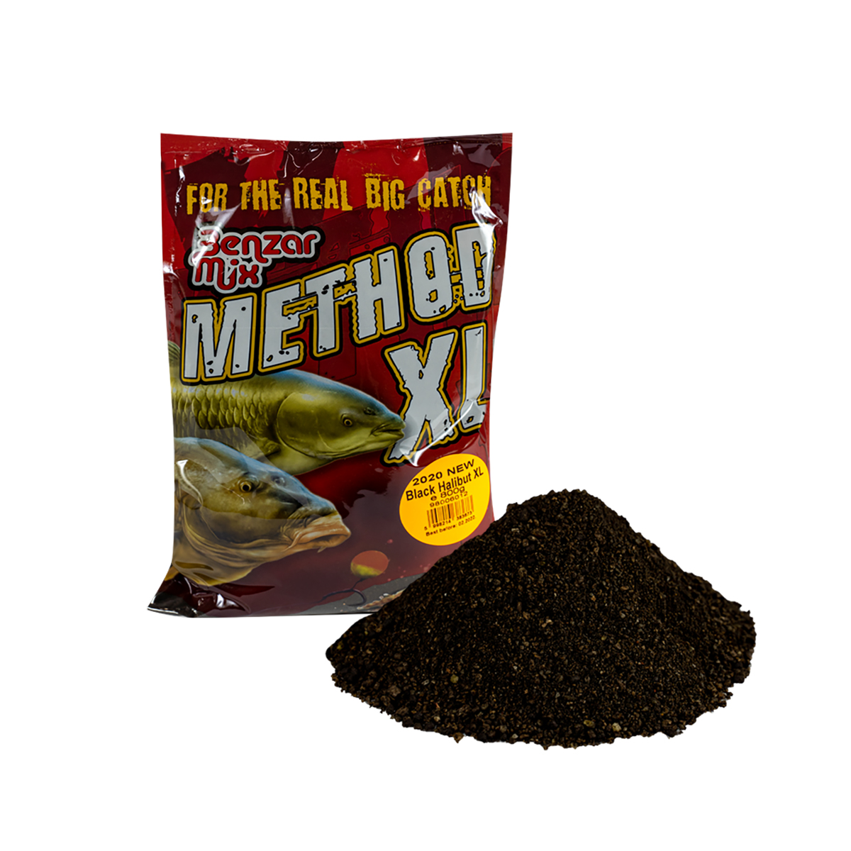 BENZAR MIX SERIA METHOD XL BLACK HALIBUT 800GR