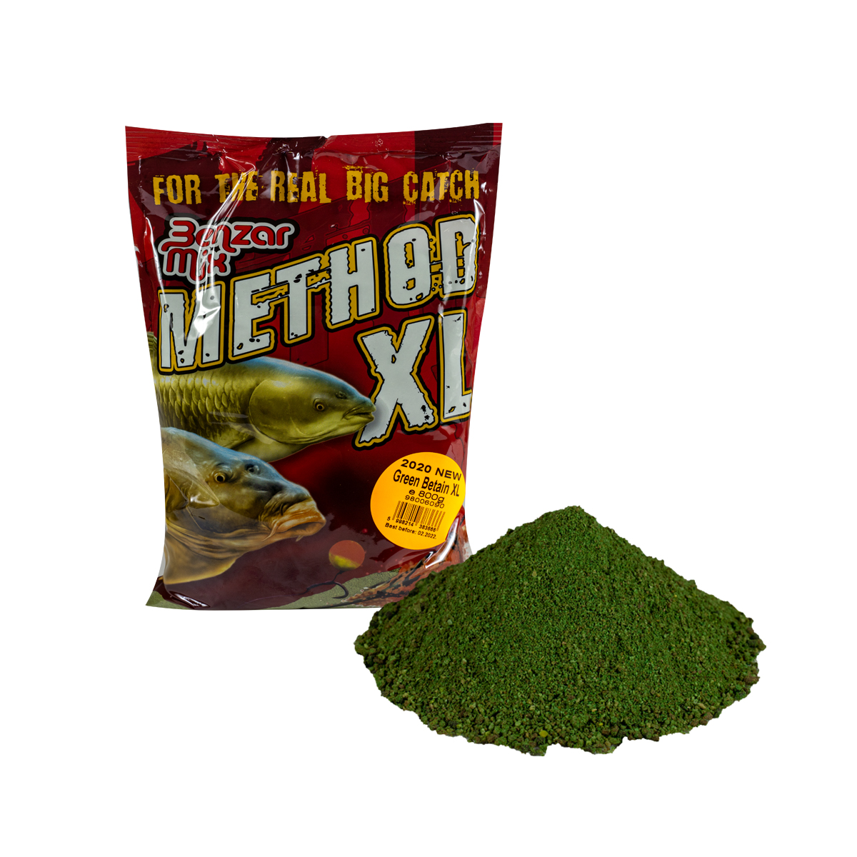 BENZAR MIX SERIA METHOD XL GREEN BETAIN 800GR