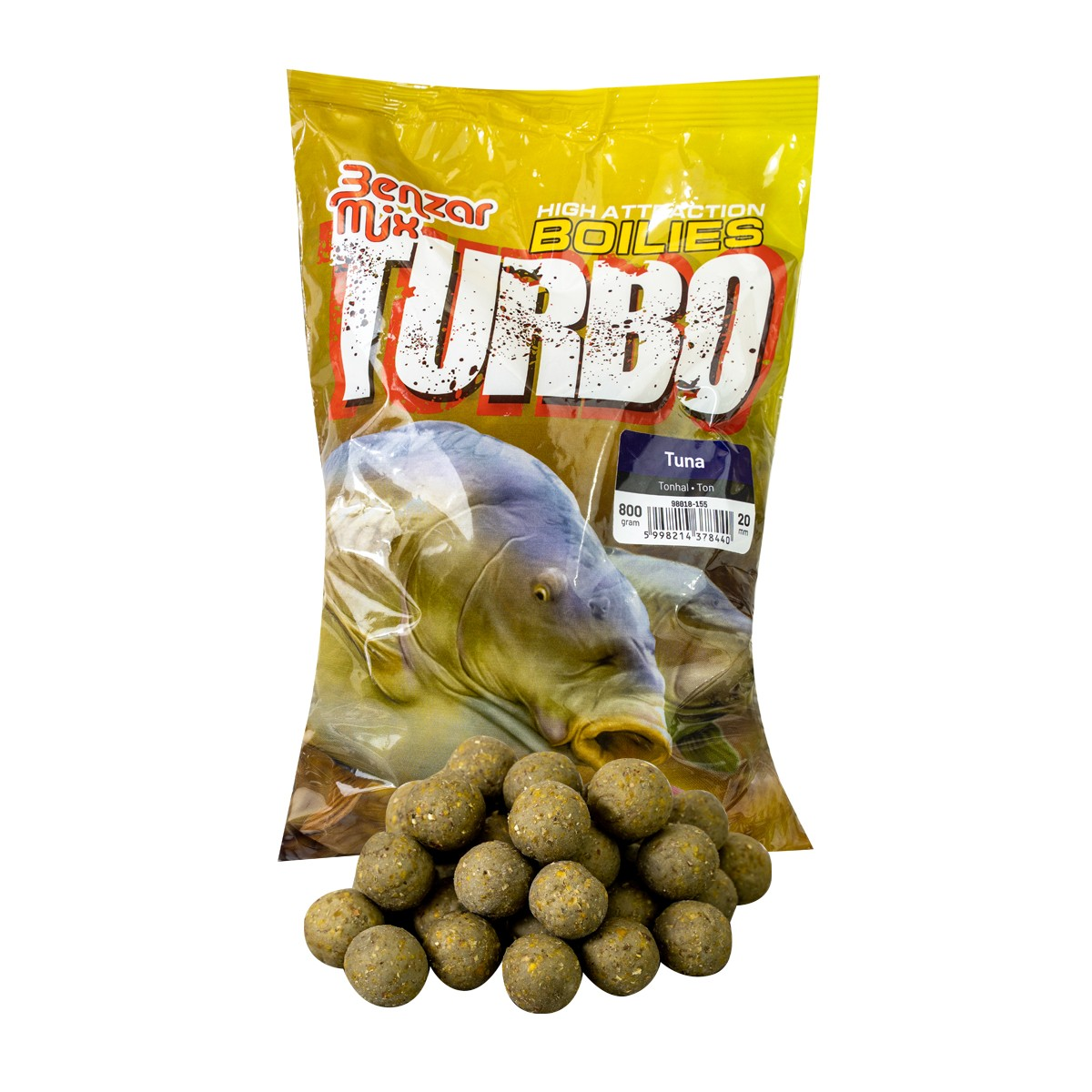 BENZAR TURBO BOILIE 800G 15MM TONHAL