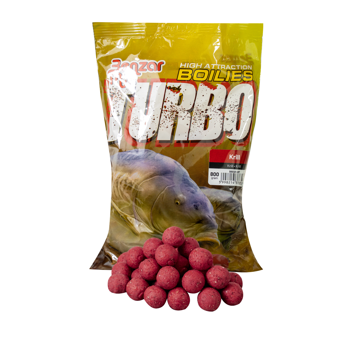 BENZAR TURBO BOILIE 800G 20MM KRILL