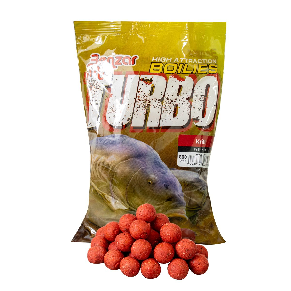 BENZAR TURBO BOILIE 800G 24MM KRILL