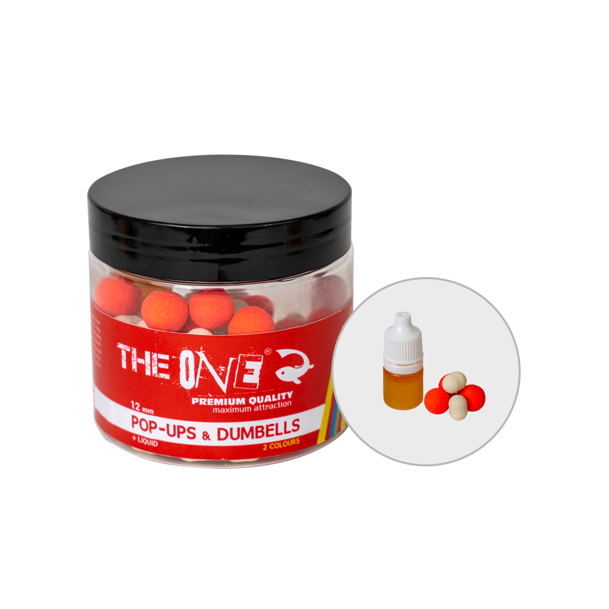 THE ONE POP-UP 50G + LIQUID RED