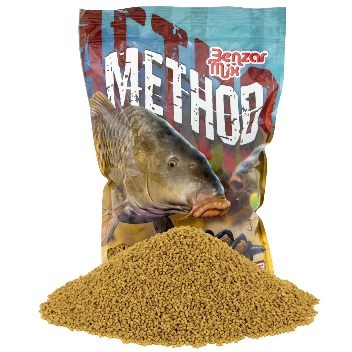BENZAR MIX METHOD PELLET MÉZ 2MM 800GR