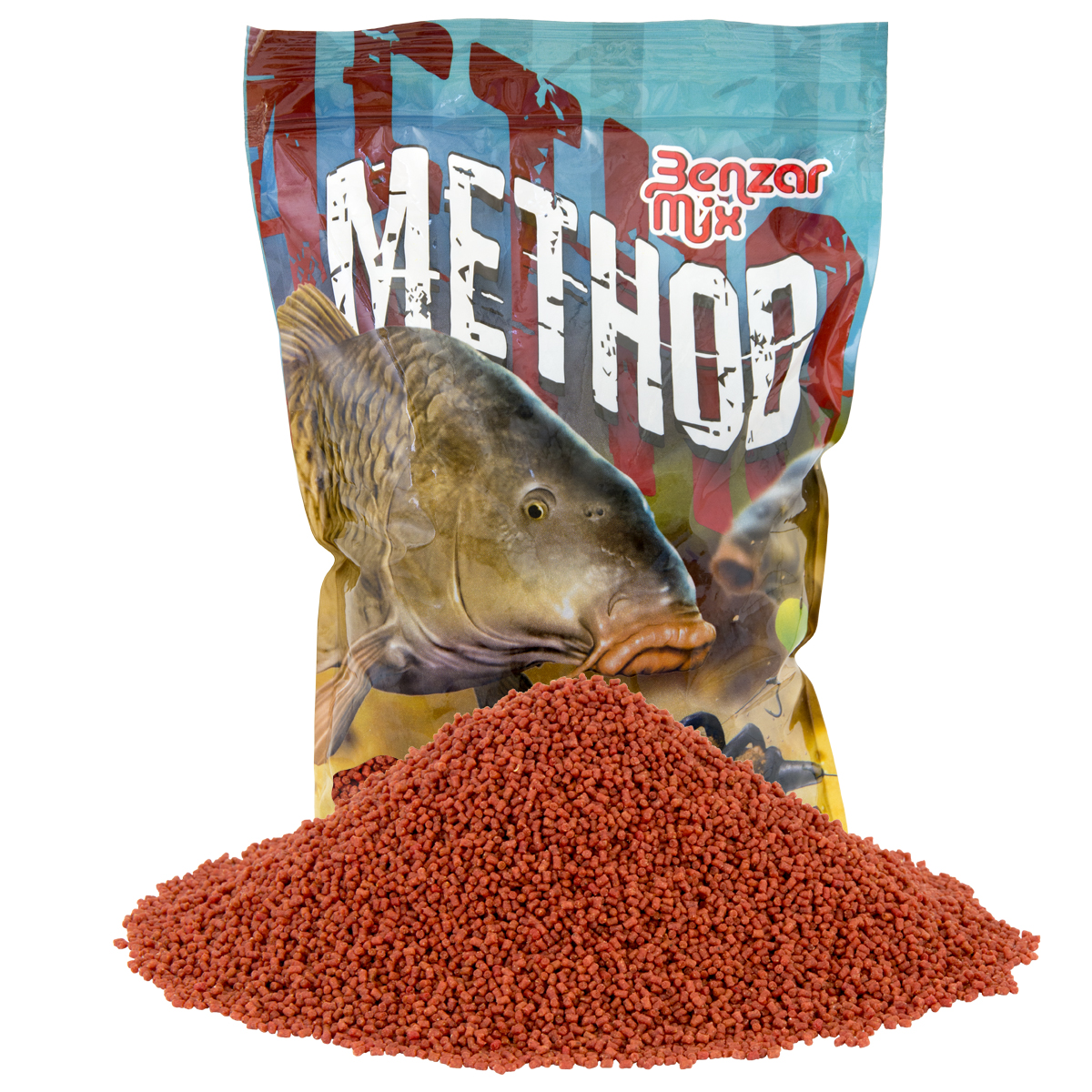 BENZAR MIX METHOD PELLET KRILL 2MM 800GR