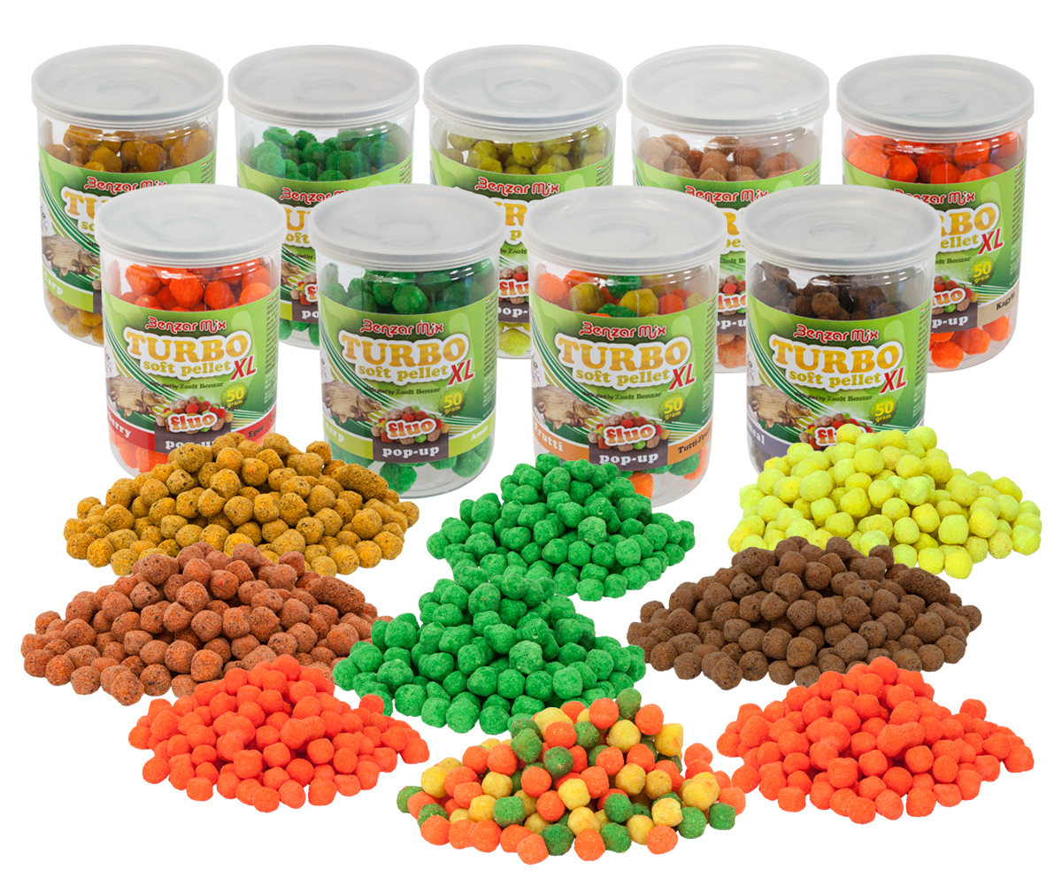 BENZAR MIX  TURBO SOFT PELLET XL TUTTI FRU