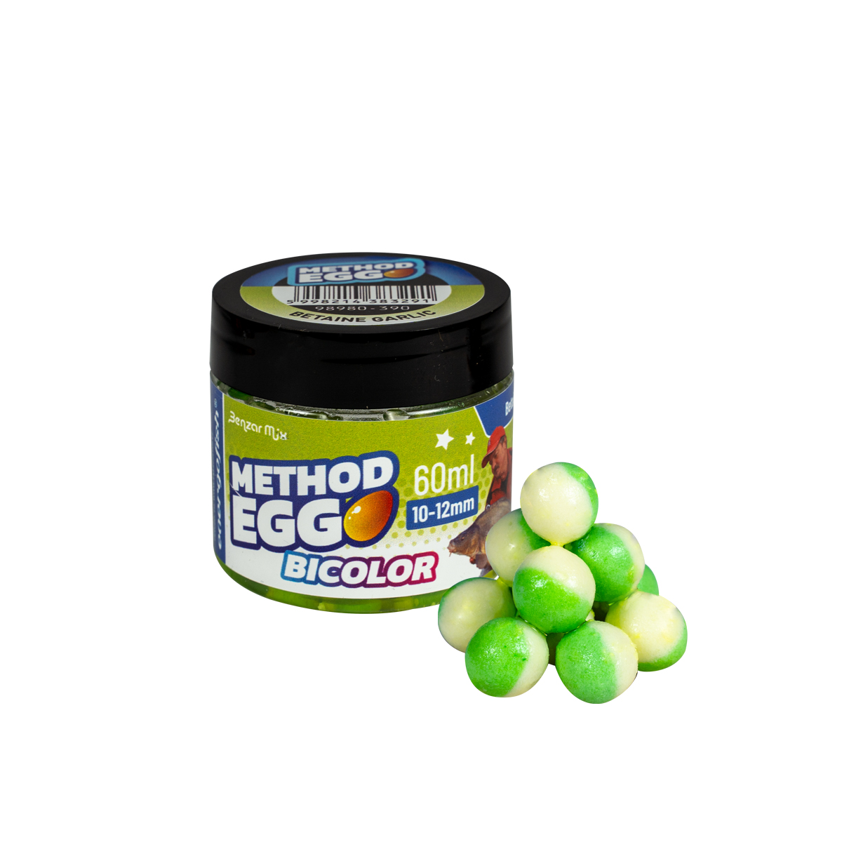 BENZAR METHOD EGG 12MM BETAINE & FOKHAGYMA 60ML ZÖLD