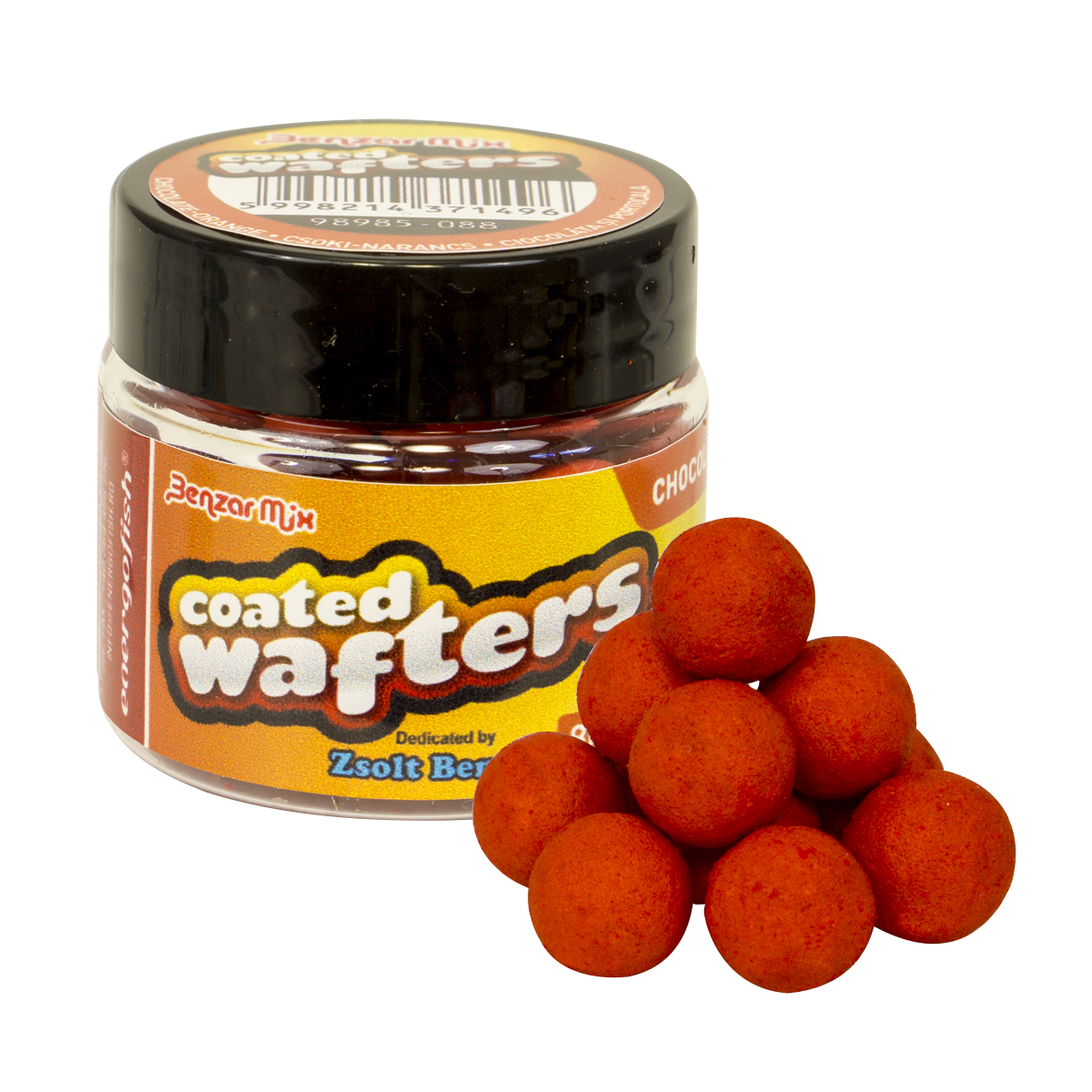 BENZAR COATED WAFTERS 8MM CSOKI-NARANCS 30ML NARANCS
