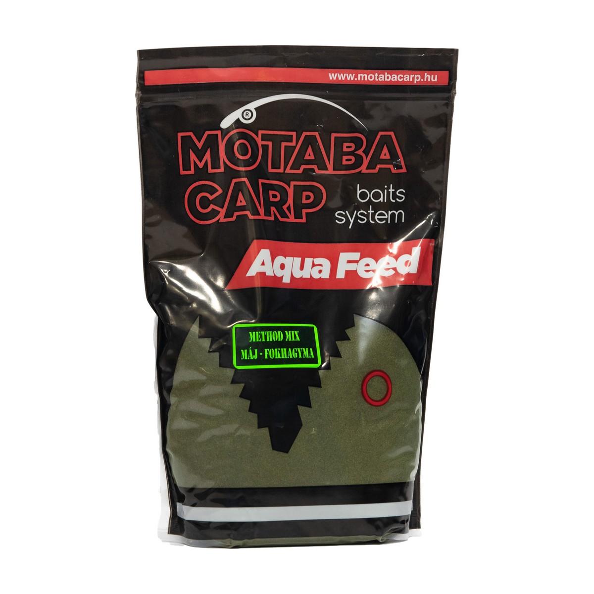 MOTABA CARP METHOD MIX MÁJ FOKHAGYMA 800G