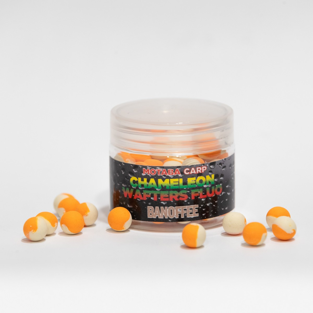 MOTABA CARP WAFTERS CHAMELEON FLUO BANOFFEE 10 MM 30G