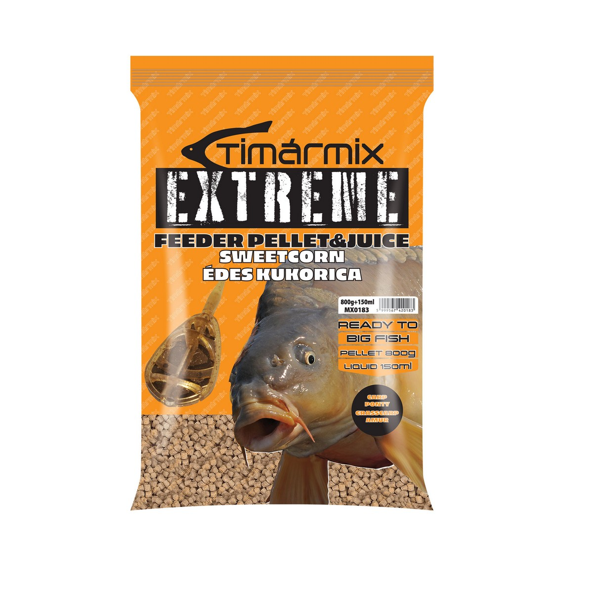 TIMÁR MIX EXTREME PELLET & JUICE SWEET CORN 800 +150G