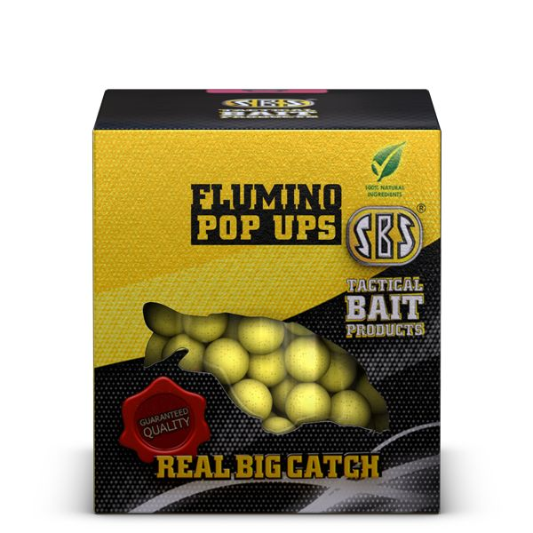 SBS FLUMINO POP UPS SQUID&OCTOPUS 100 GM 10-14MM