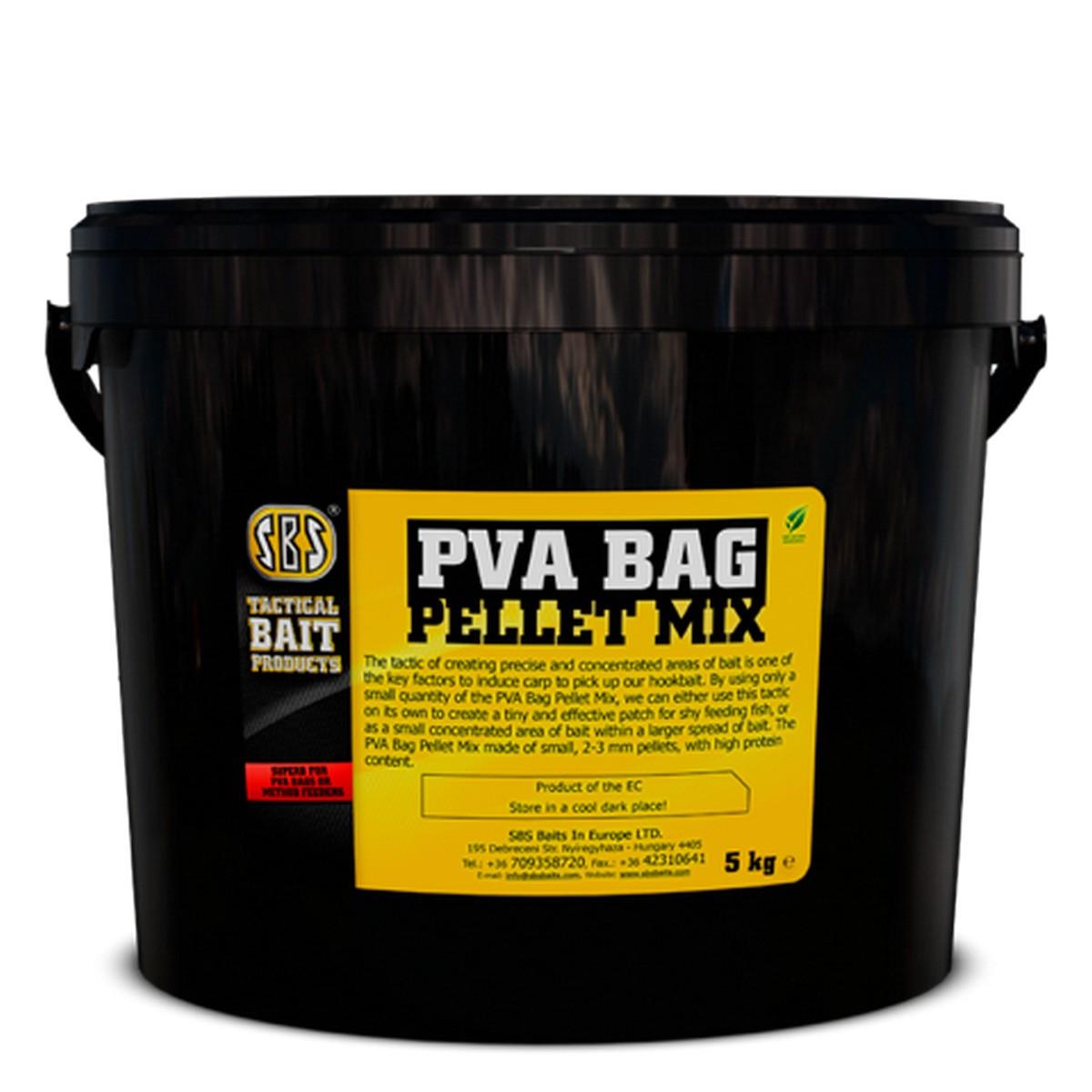 SBS PVA BAG PELLET MIX 5KG HALAS
