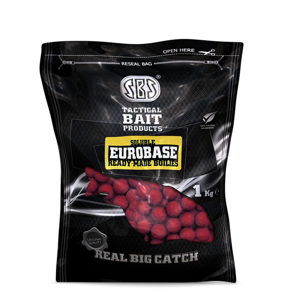 SOLUBLE EUROBASE READY-MADE BOJLI 20MM/1KG-SQUID&OCTOPUS&MULBERRY