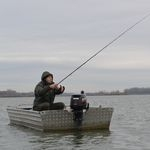 Téli pickerezés a Tisza-tavon