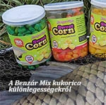 A Benzár-mix kukorica különlegességekről