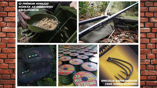 Új prémium márkák az Enrgofish kínálatában