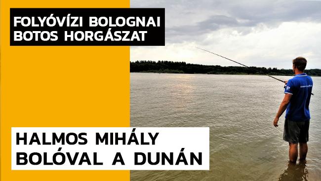 Bolóval a Dunán