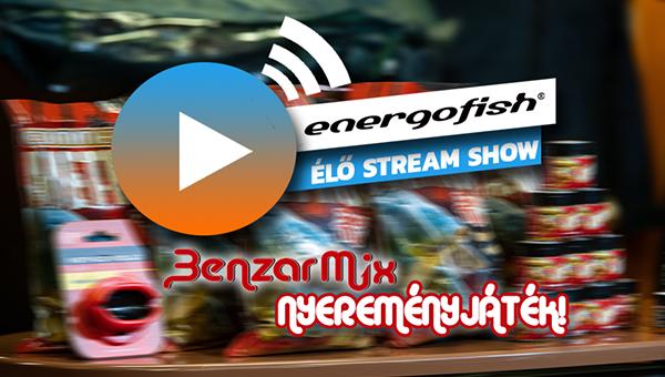 Energofish ÉLŐ Stream Show program