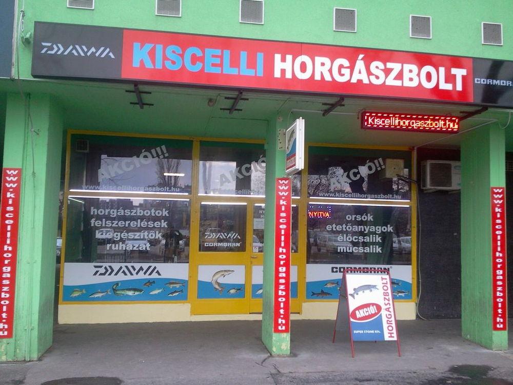 KISCELLI HORGÁSZBOLT