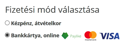 Fizetési mód