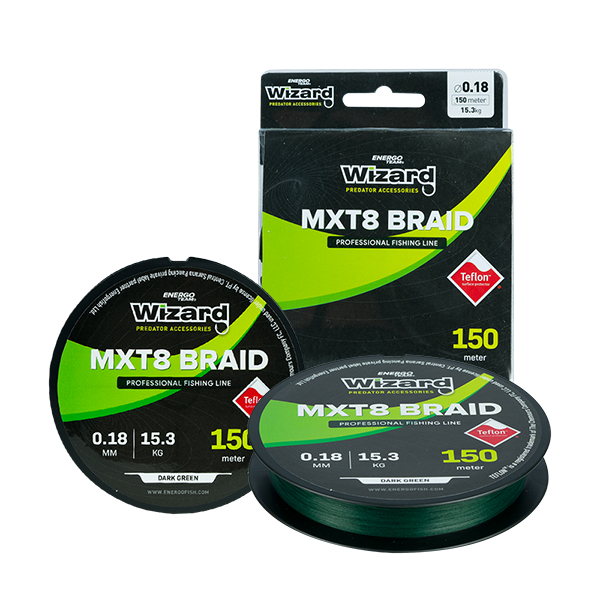 FIR WIZARD MXT8 BRAID 0,12MM 150M 10,8KG There is no unique product image for this product version, so the main product image is displayed.