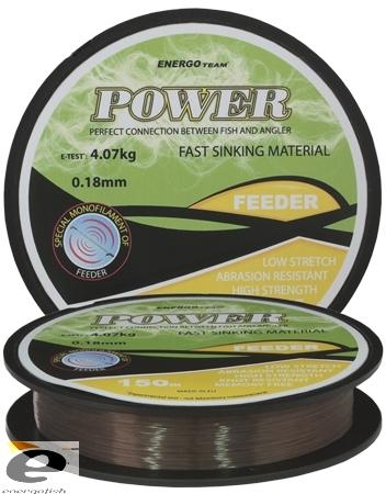 ENERGO TEAM POWER FEEDER, BROWN, 150M