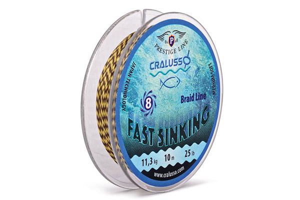 CRALUSSO FAST SINKING FONOTT ELÕKE ZSINÓR 18LB 10 M