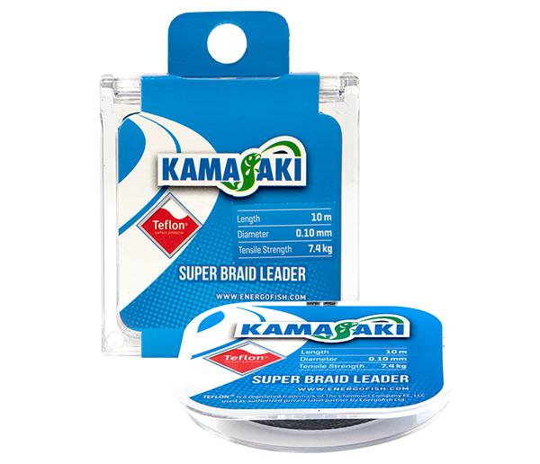 KAMASAKI SUPER BRAID LEADER 10M 0.30MM 26,6KG