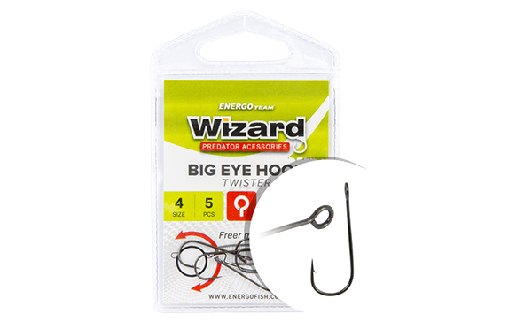 HOROG WIZARD BIG EYE TWISTER 8